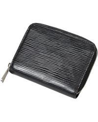 Louis Vuitton Porte-monnaie zippy - Noir