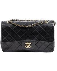 Chanel Vintage Classic Double Flap - Noir