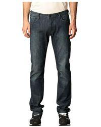 Emporio Armani 5 Tasche Jeans - Blauw