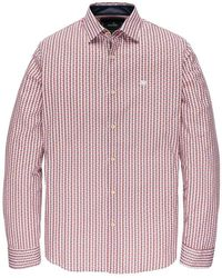 Vanguard Long Sleeve Shirt Print - Wit
