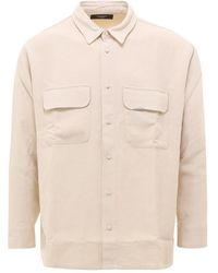 Represent Shirt M06045 - Naturel