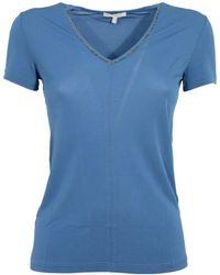 Borbonese T-shirt - Blauw