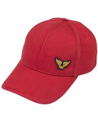 PME LEGEND Cap Washed Twill Racing - Rood