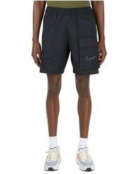 Nike Anorak Sportswear Shorts - Zwart