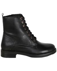 PS Poelman Veter Boots - Zwart