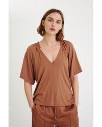 Inwear Blusa Abbey Marrón