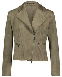 Betty Barclay Leather Jacket 4238-1673 - Groen