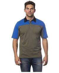 Verri Embroidered Polo Shirt Short Sleeve - Groen