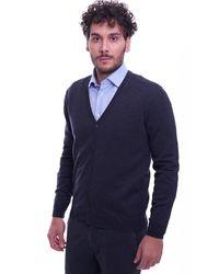 Heritage Pure Wool Cardiganin - Grau