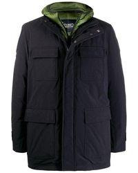 Herno - Field Jacket Con Cortavientos Interior Desmontable - Lyst
