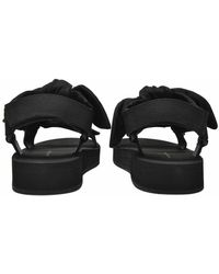 Loeffler Randall Maisie Sporty Sandals Negro