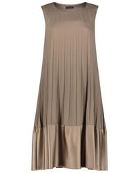 Strenesse - Pleated Dress - Lyst