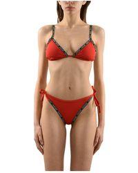 Calvin Klein Costume bikini - Rosso