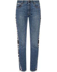 Stella McCartney - Side-streep Jeans - Lyst