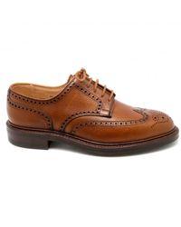 Crockett & Jones Pembroke shoes Naranja
