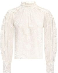 AllSaints Top - Blanc