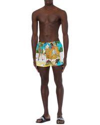 Moschino Costume Da Bangno Beach - Geel