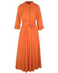 Motel Dress - Orange