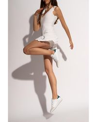 Marysia Swim Dress with shorts - Blanc