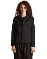 Comme des Garçons Buttons Jacket - Zwart