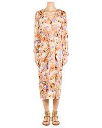 Soallure Kleid P1030 - Arancione