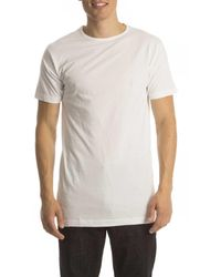 Alan Red T-shirt Derby Extra Long - Wit
