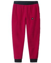 The North Face W' Fleeski Fleece Pant - Rood