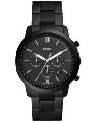 Fossil Watch Ur - Fs5474 - Zwart