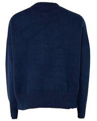 AMI Oversized Sweater Azul