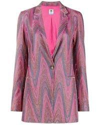 M Missoni Jacket - Roze