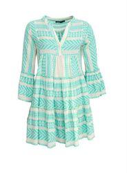 Devotion Ella Short Dress - Groen