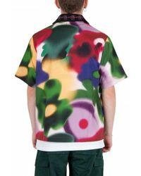 Brain Dead Floral Shirt Verde