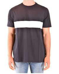 Fay - T-shirt - Lyst