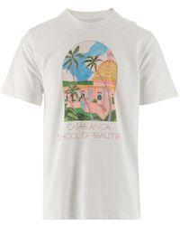 CASABLANCA T-shirt - Wit