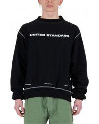 United Standard Logo Crew Sweatshirt - Zwart