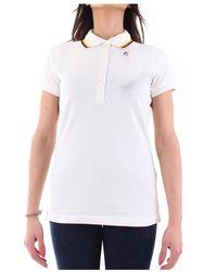 K-Way K111nyw Short Sleeves Polo - Wit