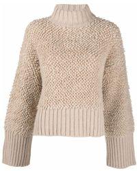 The Attico Sweater - Naturel