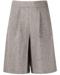 Peserico Shorts - Grijs