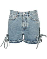 Off-White c/o Virgil Abloh Jeans Owyc006s21den002 - Blauw