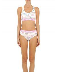 Moschino Two-piece Sleepwear My Little Pony Bikini - Wit