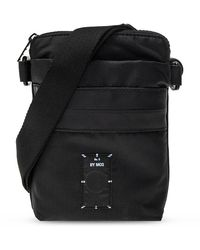 Alexander McQueen Shoulder Bag With Logo - Zwart