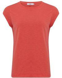 COSTER COPENHAGEN Cch1100 T-Shirt Top - Rouge