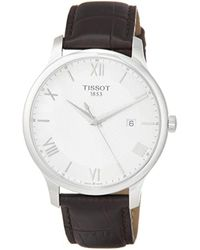 Tissot Tradition Watch - Wit
