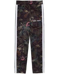 Palm Angels Jungle Classic Track Pants - Groen