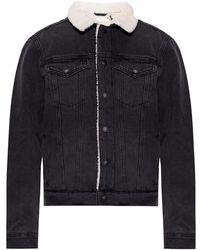 AllSaints Morton Denim Jacket - Grijs
