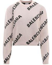 Balenciaga Gebreide Kleding 671576t3200 - Grijs