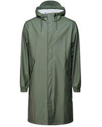 Rains Fishtail Hooded Parka - Groen