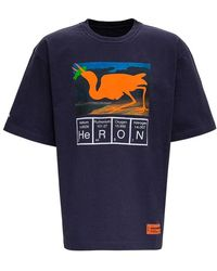Heron Preston - Jersey T-shirt With Logo Print - Lyst