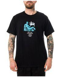 Stussy T-shirt Dionysos - Zwart
