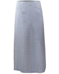 Scotch & Soda - Midi Length Skirt - Lyst